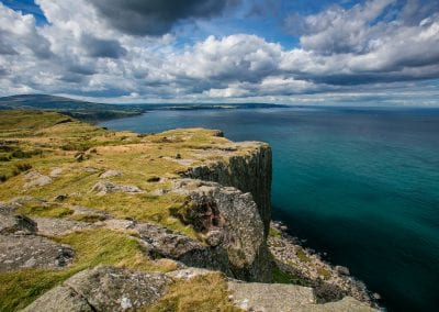 a view of the sea from fairhead aka dragonstone